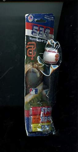 PEZ 2000 San Francisco Giants Baseball Candy & Dispenser And