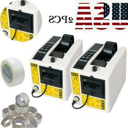 2xAutomatic Tape Dispensers Adhesive Tape Cutter Packaging M