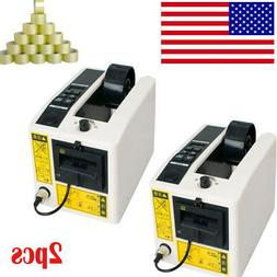 2X【US LOCAL】Automatic Tape Dispensers Adhesive Cutter Cu