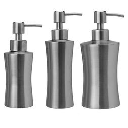 304 Stainless Steel Soap Dispenser Hand Sanitizer Bottle for