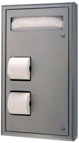 Bobrick 3574 ClassicSeries 304 Stainless Steel Recessed Seat