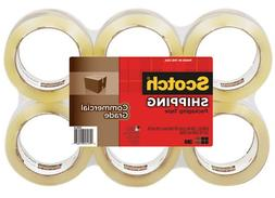 "Scotch 3750 Commercial Grade Packaging Tape, 1.88"" X 54.6Yds"