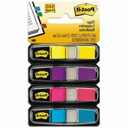 3M Post-it Small Flags in Dispensers Four Colors, 35/Color 4