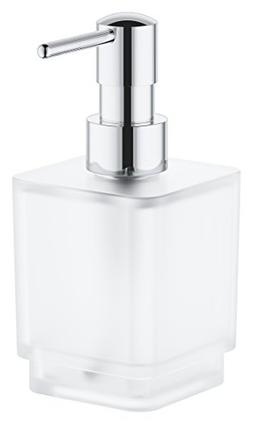 Grohe 40805000 Selection Cube Soap Dispenser, Starlight Chro