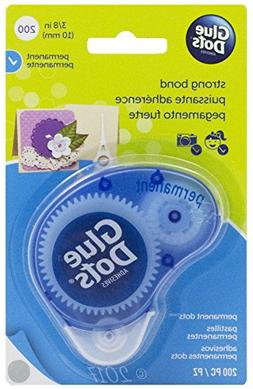 Glue Dots 468591 Glue Dots 3-8 in. Permanent Dot n Go Dispos