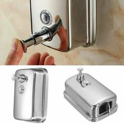 500ml Bathroom Soap Dispenser Wall Mounted Container Hand Pr