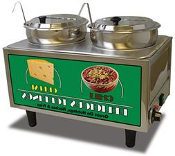 Benchmark 51072 Chili and Cheese Warmer, 21 Length x 13 Widt