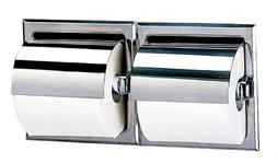 Bobrick 6997 Stainless Steel Recessed Dual Roll Toilet Tissu