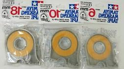 Tamiya 87030C Masking Tape w/ Dispensers Combo Pack 6mm-10mm