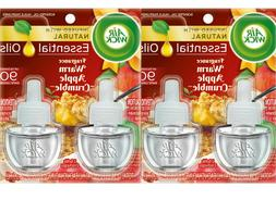 Air Wick Scented Oil 2 Refills, Warm Apple Crumble, , Air Fr