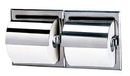 Bobrick 699 304 Stainless Steel Recessed Dual Roll Toilet Ti