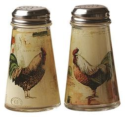 Circleware 66761 Salt and Pepper Shakers, 2-Piece Set, 4 oz,