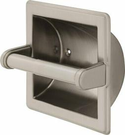 Delta Faucet 45072-SN Recessed Paper Holder W/Beveled Edges,