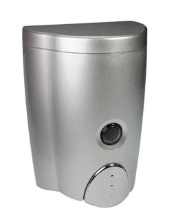 HOMEPLUZ Simply Silver Wall-Mount Soap Dispenser for Kitchen