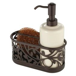InterDesign Vine Soap Dispenser Pump and Sponge Caddy - Kitc