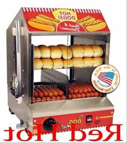 Paragon 8020 Hot Dog Hut Steamer Merchandiser for Profession