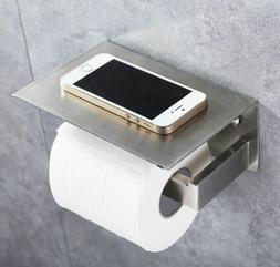 Toilet Paper Holder with Phone Shelf, APL Bathroom Accessori