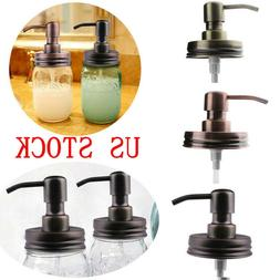 Anti-Rust Metal for Mason Jar Soap Lotion Dispenser Lid Pump