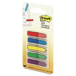 Post-it Arrow Flags with On-the-Go Dispenser, Assorted Prima