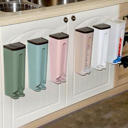 Useful Kitchen Wall Mount Grocery Bag Plastic Holder Storage