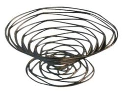 American Metalcraft BNB9 Conical Birdnest Wire Basket, 9-Inc