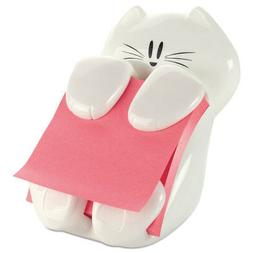 Post-it Cat Figure Pop-up Note Dispenser, 3 inch x 3 inch, ,