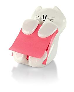 Post-it Pop-up Note Dispenser, Cat design, 3 in x 3 in , 1 D