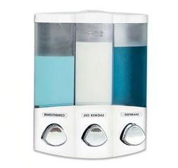 Clear Choice Shower Dispenser Wall Mounted For Liquid Soap S