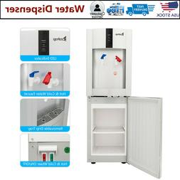 Commercial Grade Freestanding Hot & Cold Water Cooler Dispen