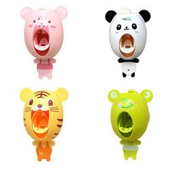 Cute Animal Household Bathroom Automatic Toothpaste Dispense