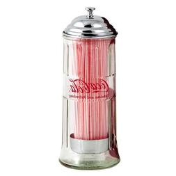 Tablecraft 11-in. Diner Collection Old Fashioned Straw Dispe