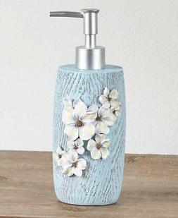DOGWOOD BLOSSOMS BATHROOM KITCHEN COUNTERTOP SOAP LOTION DIS
