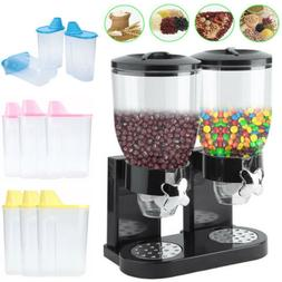 Dry Food Dispenser Dual Control for Cereal Trail Mix Candy G