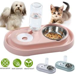 Food and Water Pet Bowl Automatic Drink Refill Dispenser Sma