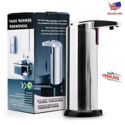Hands Free Automatic Stainless Steel Soap Dispenser for Kitc