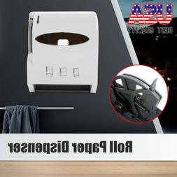 Heavy Duty Roll Paper Towel Dispenser Wall Mount Commercial