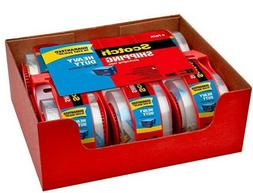 Heavy-Duty Shipping Packaging Tape,Roll with Dispenser,1.88