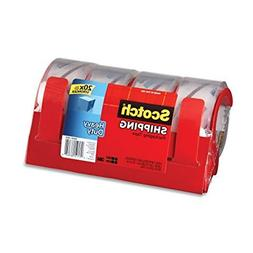Scotch Heavy Duty Shipping Packaging Tape with Refillable Di
