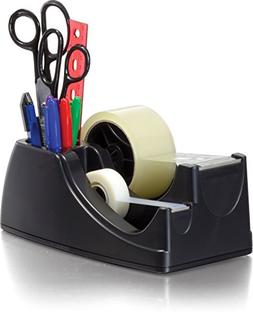 Officemate Heavy Duty Weighted 2-in-1 Tape Dispenser, Recycl
