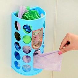 Kitchen Bag Holder Dispenser Box Wall Mount Recycle Plastic