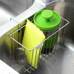 Kitchen Sponge Holder, Aiduy Sink Caddy Brush Soap Dishwashi