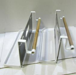 Kitchen Storage Racks, Holders and Dispensers White Lot of 2