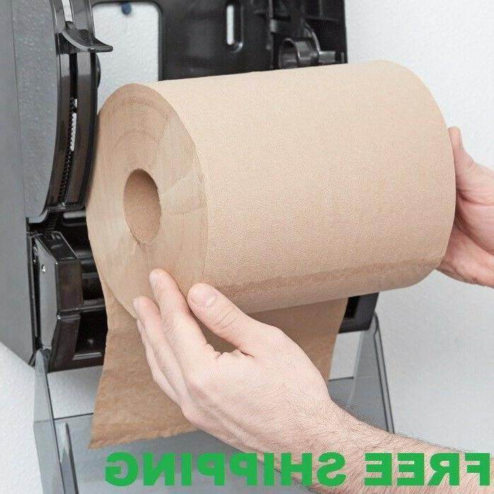 "12 CASE 8"" Standard Duty Brown Towel Paper Commercial Dispen"