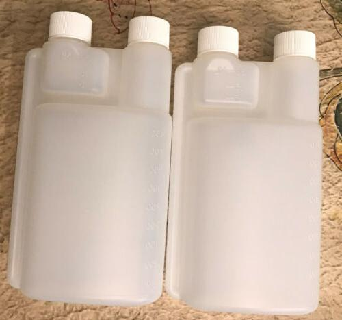 2 pack 16 oz.Twin Neck Pour And Measure Dispensing Bettix