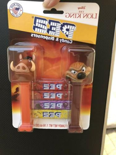 2019 new release pez dispenser lion king