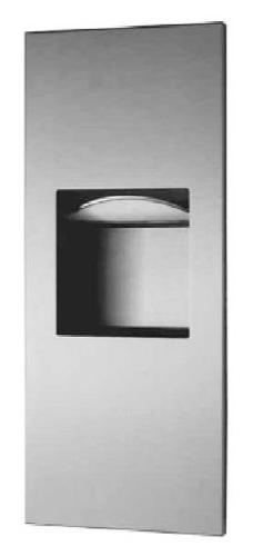 Bobrick 36903 TrimLineSeries Stainless Steel Recessed Paper
