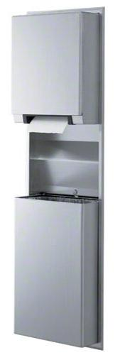Bobrick 39747 ClassicSeries 304 Stainless Steel Recessed Con