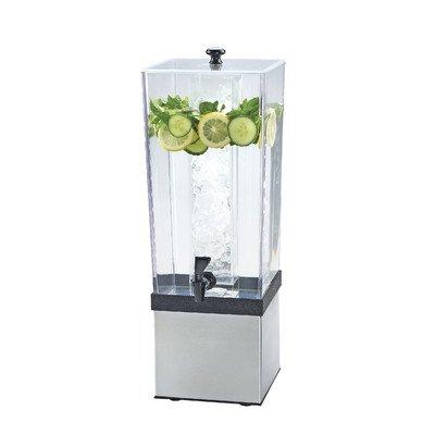 Cal-Mil 3324-3-55 Econo Beverage Dispenser, 3 gal, Stainless