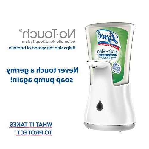 Lysol No-Touch Hand Soap Kit Aloe &
