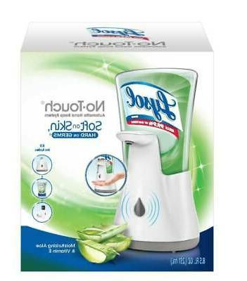 Lysol No Touch Hand Soap Kit Moisturizing Aloe